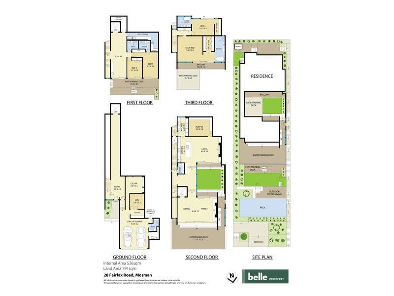 28 Fairfax Road, Mosman, NSW 2088 - floorplan