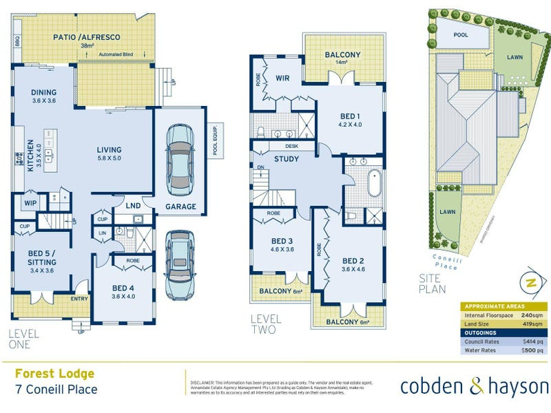 7  Coneill Place, Forest Lodge, NSW 2037 - floorplan