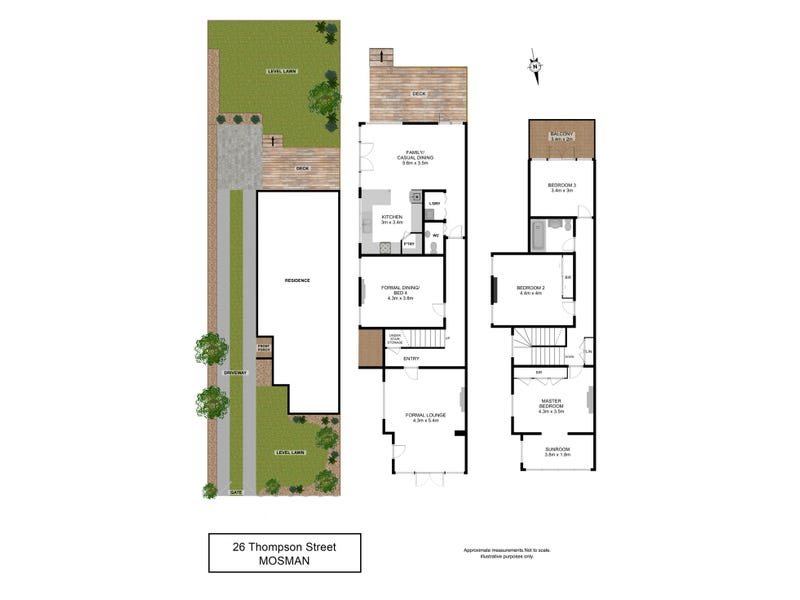26 Thompson Street, Mosman, NSW 2088 - floorplan