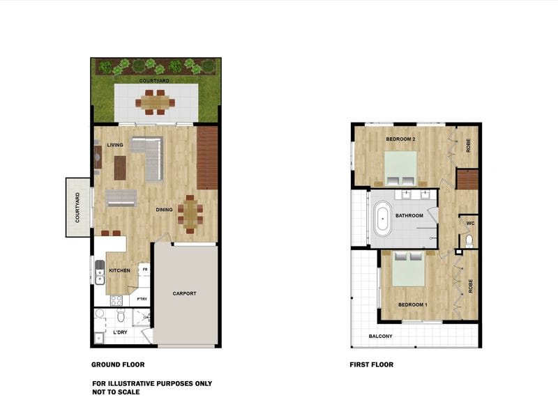 3/10-12 Coral Drive, Port Douglas, Qld 4877 - floorplan