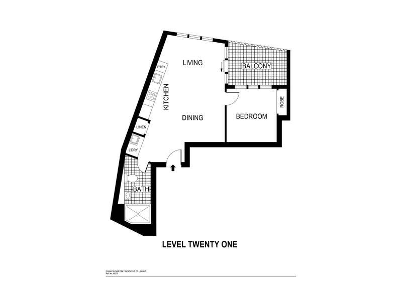 418/1 Anthony Rolfe Avenue, Gungahlin, ACT 2912 - floorplan