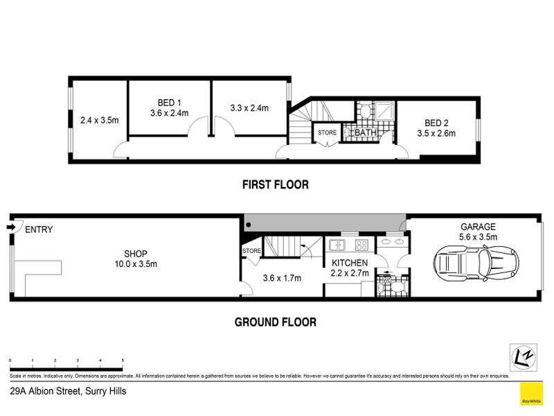 29A Albion Street, Surry Hills, NSW 2010 - floorplan