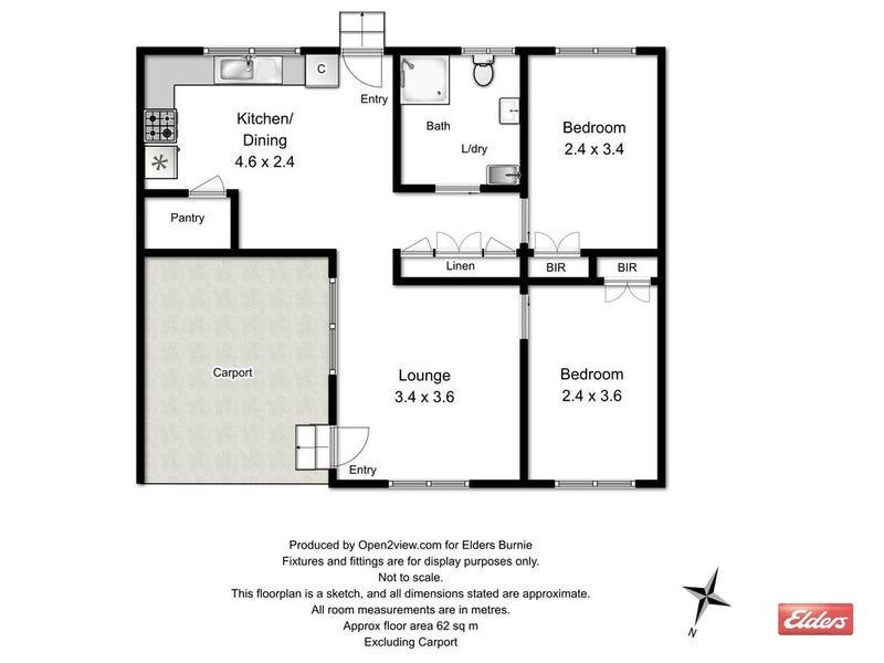 3/80A Saunders Street, Wynyard, Tas 7325 - floorplan
