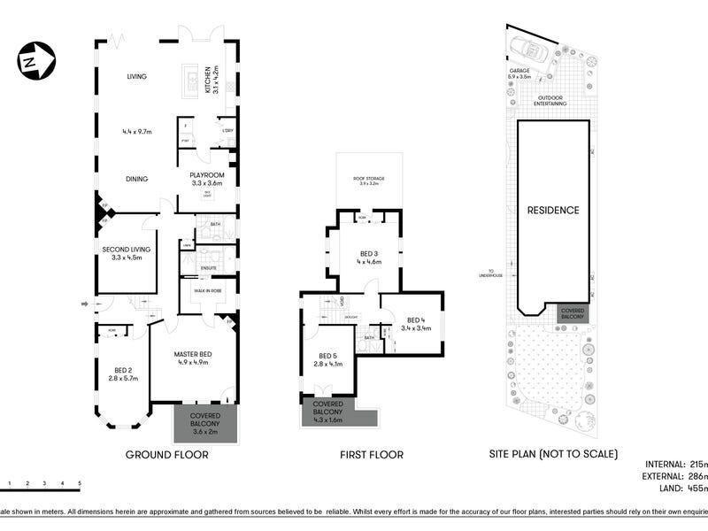 44 Calypso Avenue, Mosman, NSW 2088 - floorplan