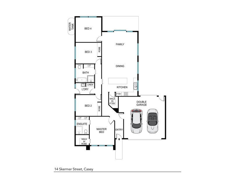 14 Skermer Street, Casey, ACT 2913 - floorplan