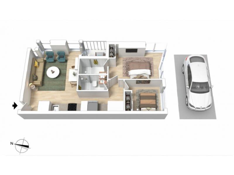 2606/285 La Trobe Street, Melbourne, Vic 3000 - floorplan