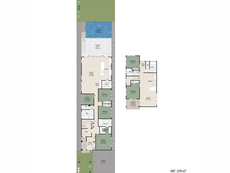 78 Fernberg Road, Paddington, Qld 4064 - floorplan