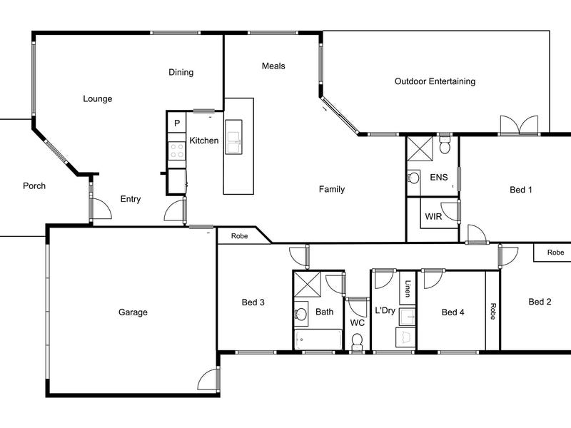 17 Sunshine Loop, Dunlop, ACT 2615 - floorplan
