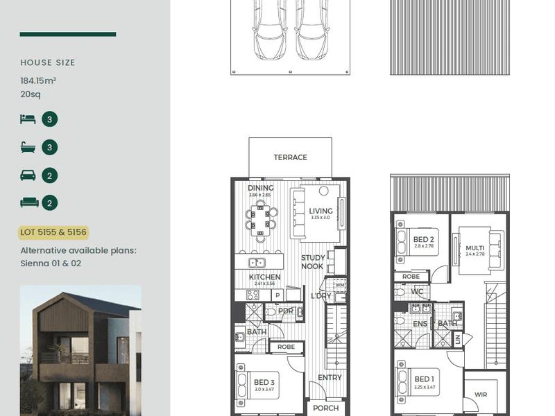 Lot 5156 Antares Loop, Epping, Vic 3076 - floorplan