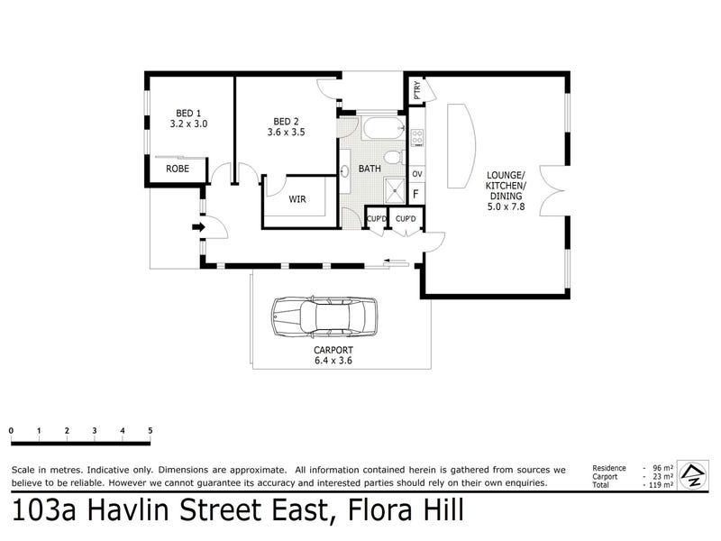 103A Havlin Street East, Flora Hill, Vic 3550 - floorplan