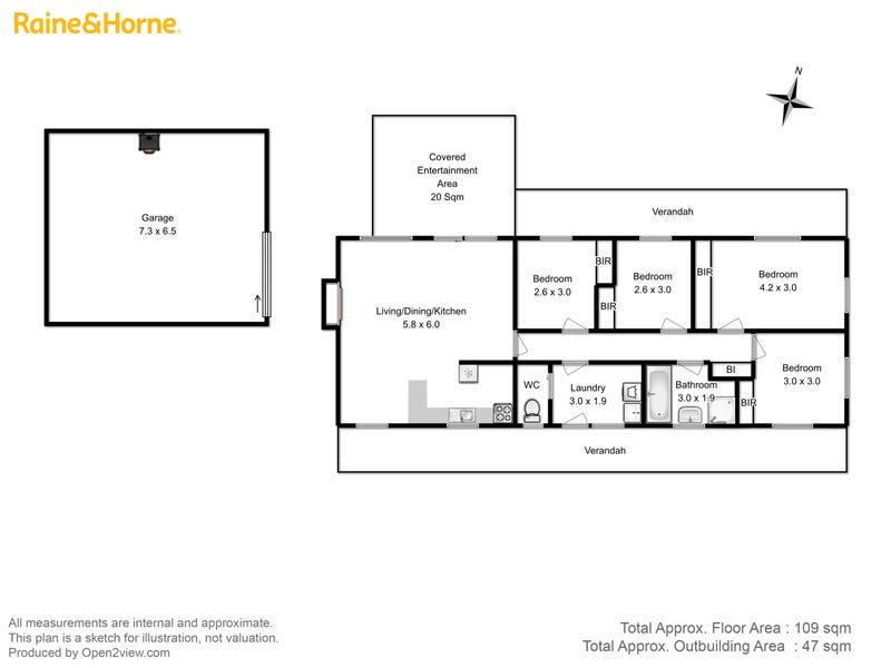 150 Downhams Road, Risdon Vale, Tas 7016 - floorplan