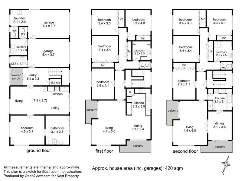 345 Sandy Bay Road, Sandy Bay, Tas 7005 - floorplan