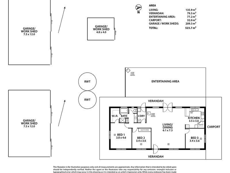 199 Lines Road, Strathalbyn, SA 5255 - floorplan