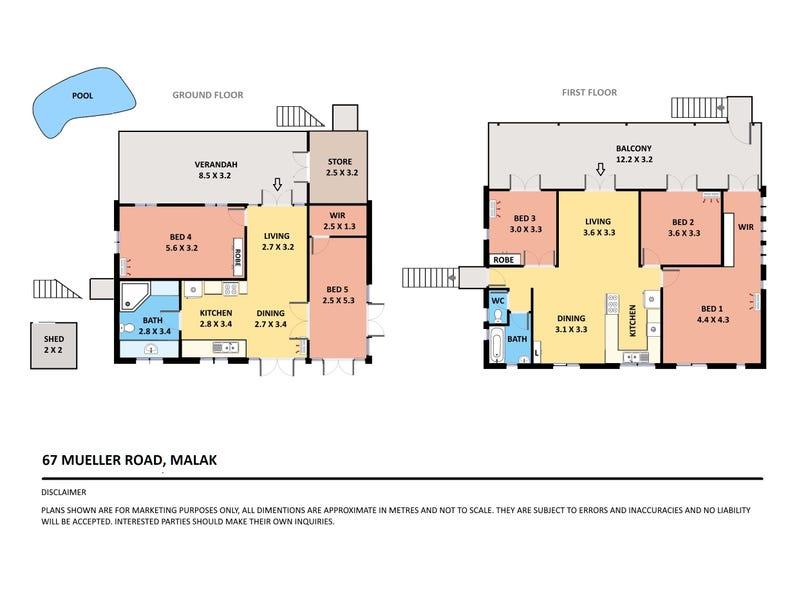 67 Mueller Road, Malak, NT 0812 - floorplan