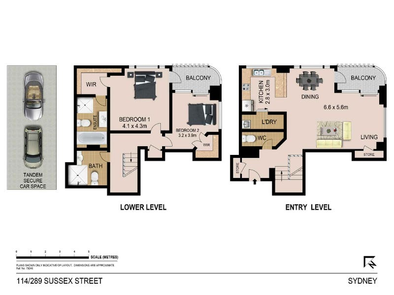 114/289 Sussex Street, Sydney, NSW 2000 - floorplan