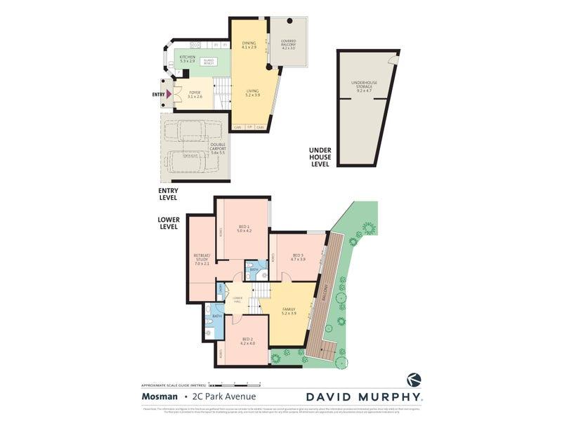 2C Park Avenue, Mosman, NSW 2088 - floorplan