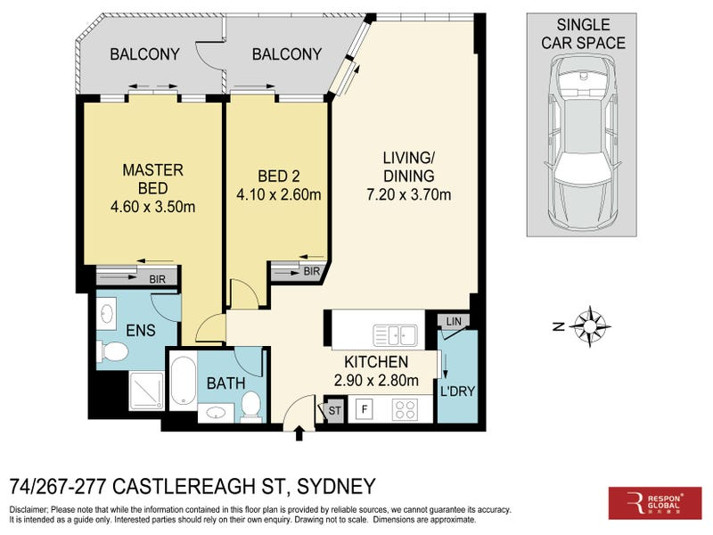 74/267-277 Castlereagh Street, Sydney, NSW 2000 - floorplan