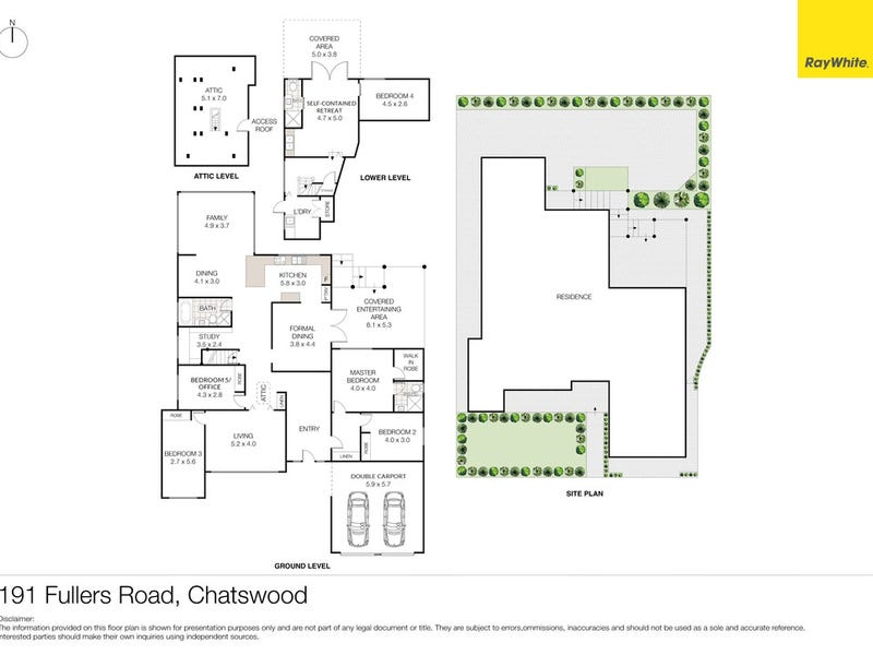 191 Fullers Road (quiet side), Chatswood, NSW 2067 - floorplan