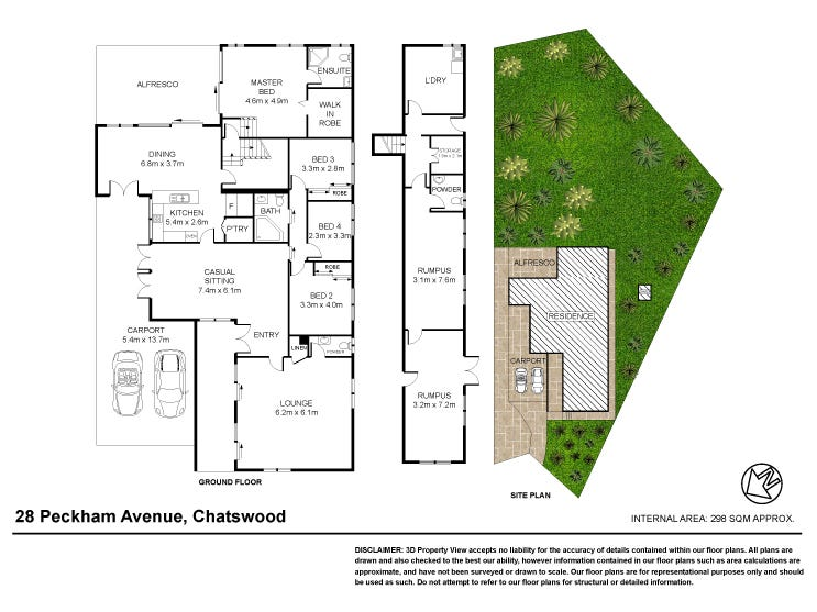 28 Peckham Avenue, Chatswood, NSW 2067 - floorplan