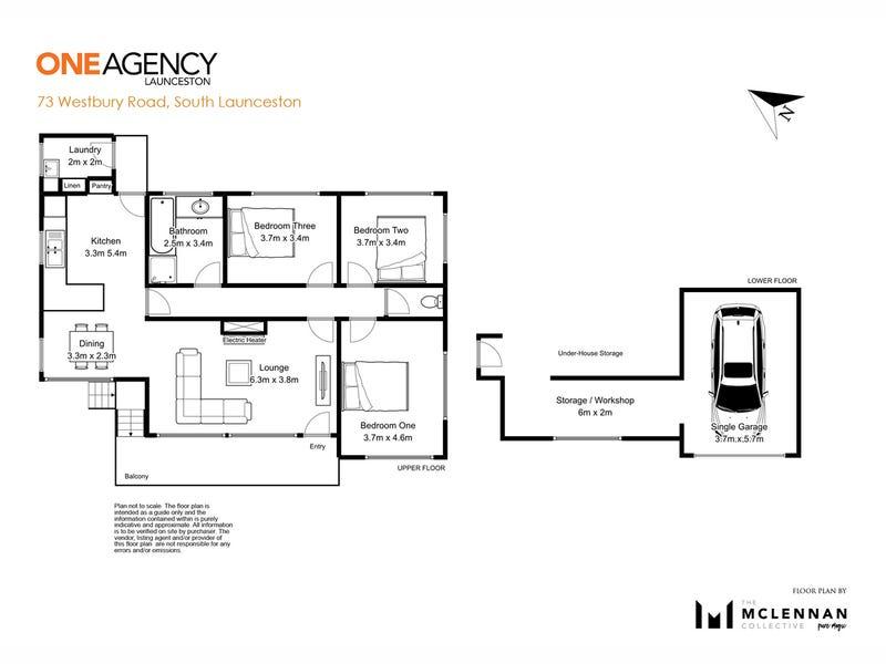 73 Westbury Road, South Launceston, Tas 7249 - floorplan
