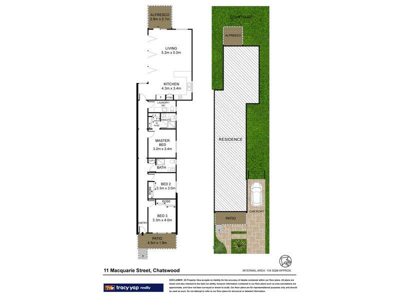 11 Macquarie Street, Chatswood, NSW 2067 - floorplan