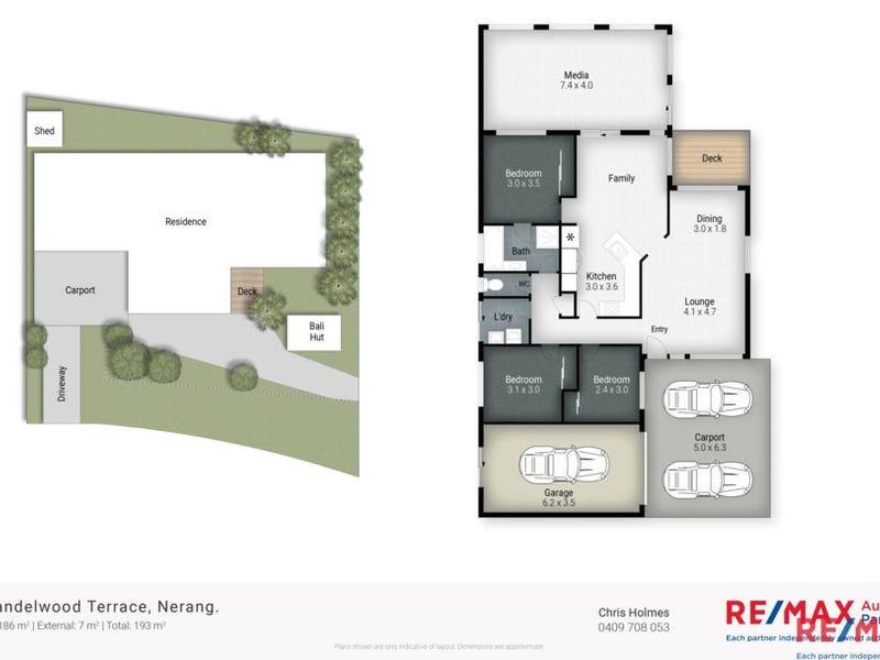 12 Sandalwood Terrace, Nerang, Qld 4211 - floorplan