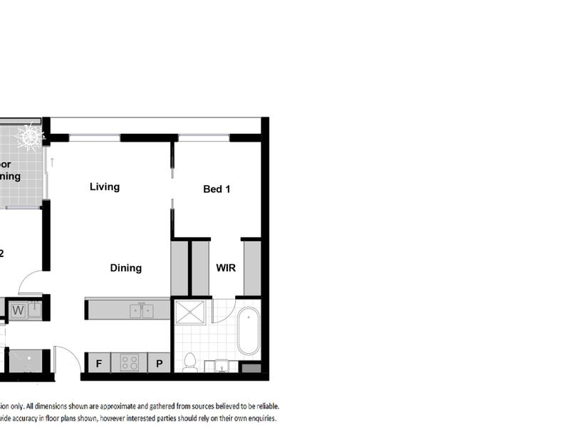 216/2 Kerridge Street, Kingston, ACT 2604 - floorplan