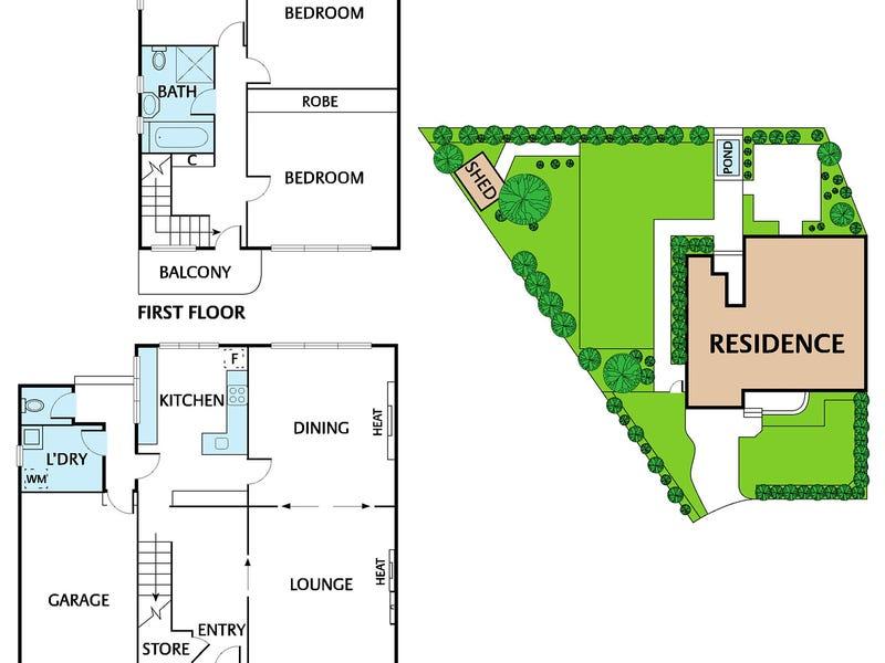 8 Melcombe Road, Ivanhoe, Vic 3079 - floorplan
