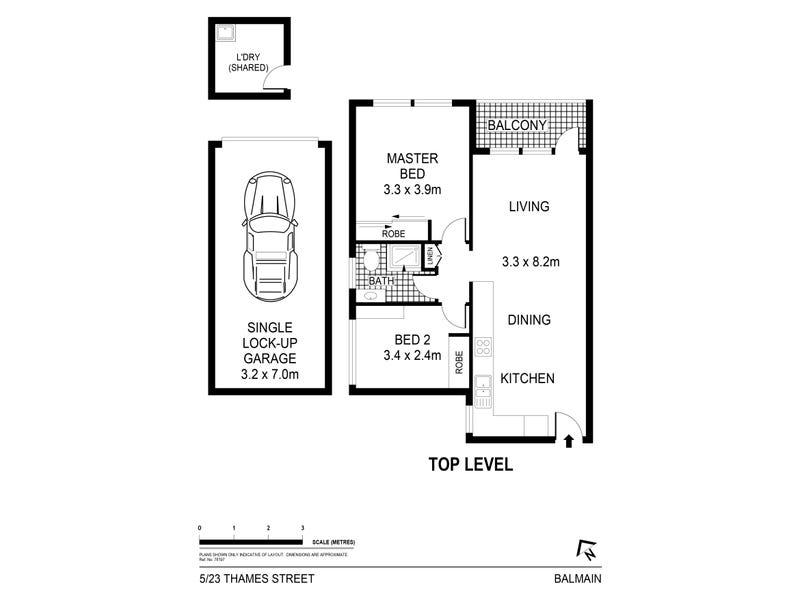 5/23 Thames Street, Balmain, NSW 2041 - floorplan