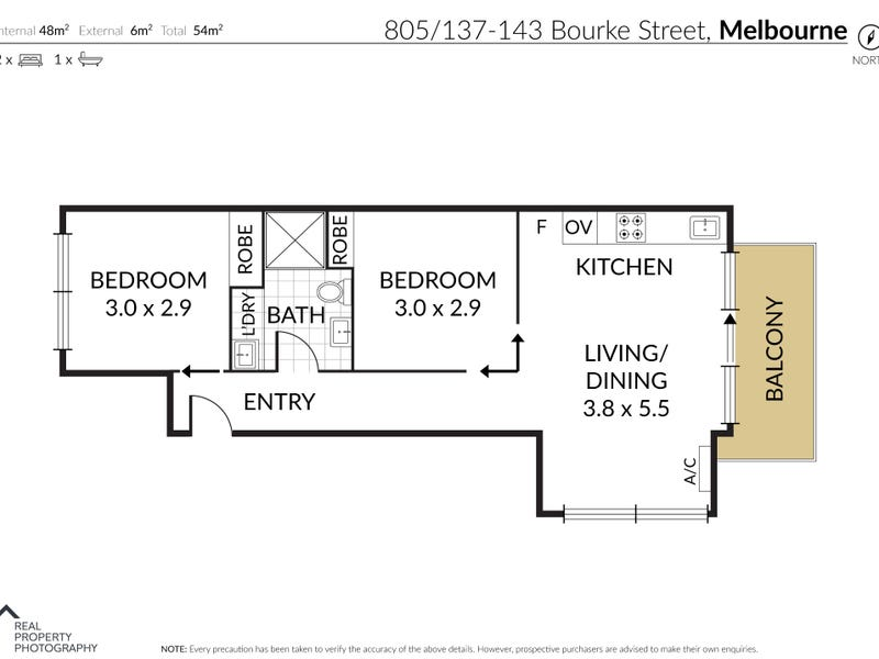 805/137-143 Bourke Street, Melbourne, Vic 3000 - floorplan