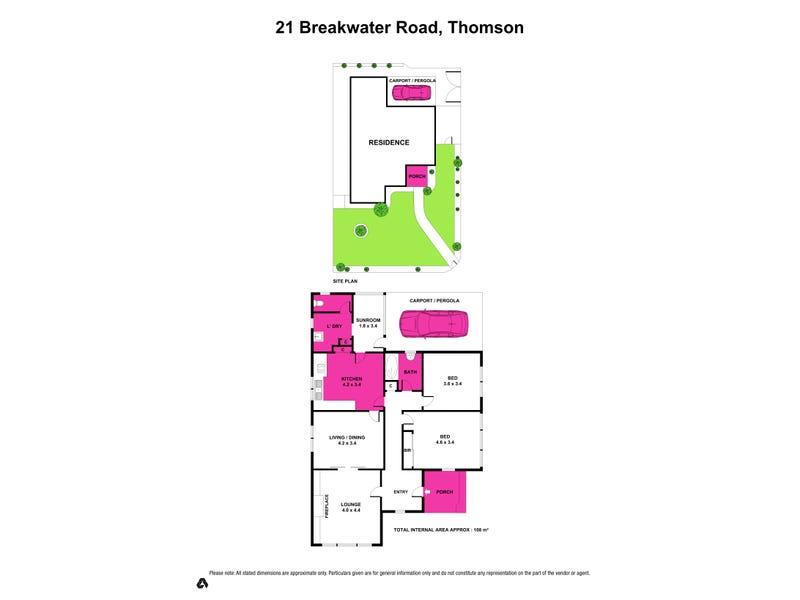 21 Breakwater Road, Thomson, Vic 3219 - floorplan