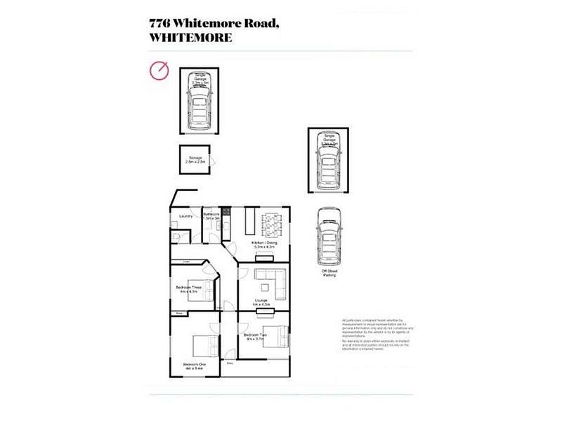 776 Whitemore Road, Whitemore, Tas 7303 - floorplan