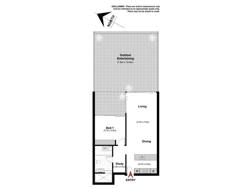 3/27 Eastlake Parade, Kingston, ACT 2604 - floorplan