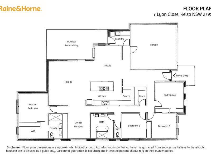 7 Lyon Close, Kelso, NSW 2795 - floorplan