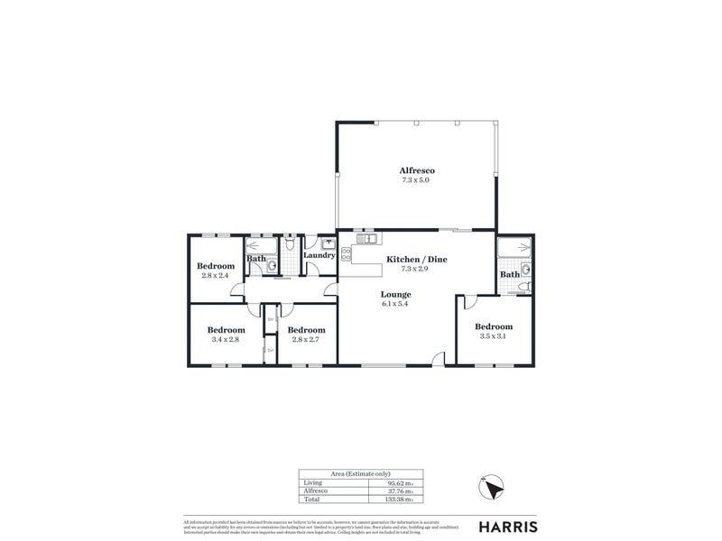 2 Bayview Drive, Moonta Bay, SA 5558 - floorplan