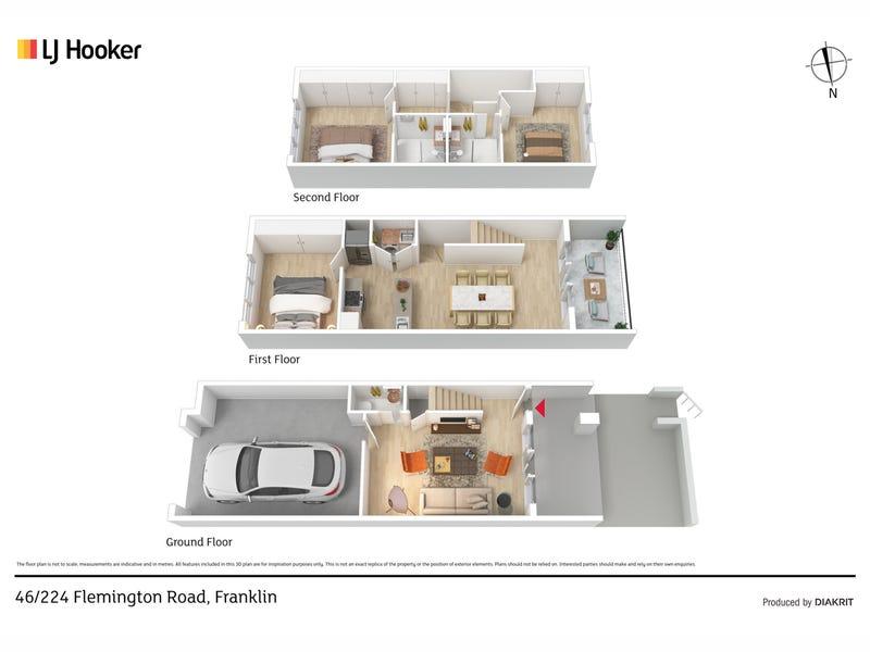 46/224 Flemington Road, Harrison, ACT 2914 - floorplan