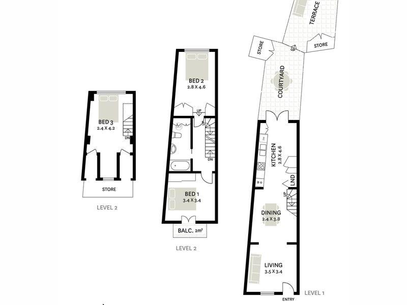 8 Prospect Street, Surry Hills, NSW 2010 - floorplan
