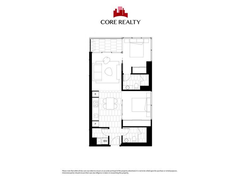 2906/120 A'beckett Street, Melbourne, Vic 3000 - floorplan