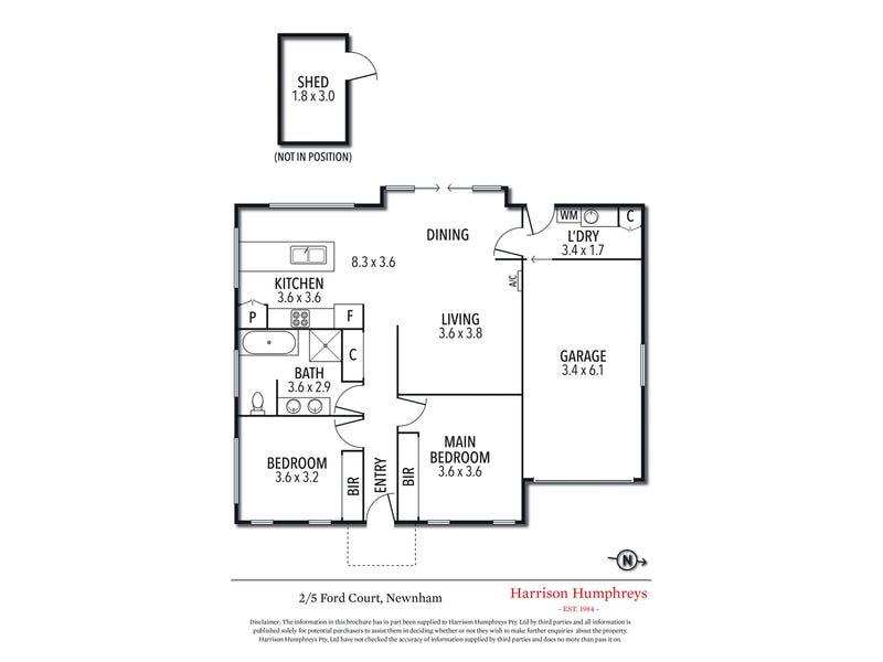 2/5 Ford Court, Newnham, Tas 7248 - floorplan