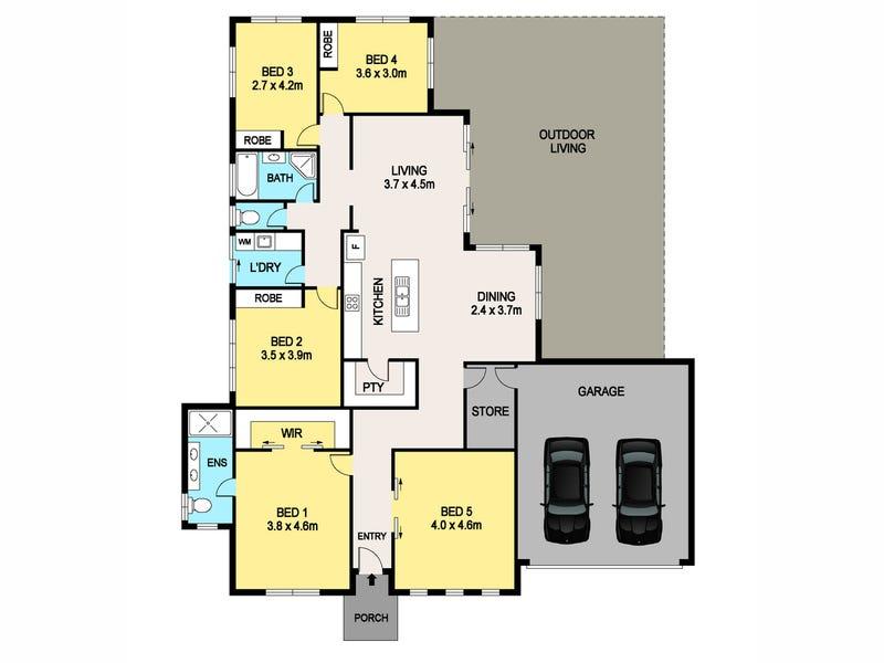 6 Stalwart Street, Johnston, NT 0832 - floorplan