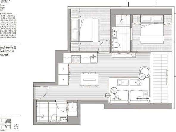 5002/462 Elizabeth Street, Melbourne, Vic 3000 - floorplan