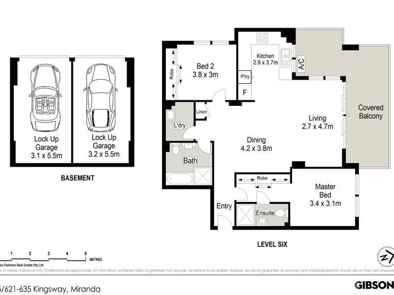 15/621-635 Kingsway, Miranda, NSW 2228 - floorplan