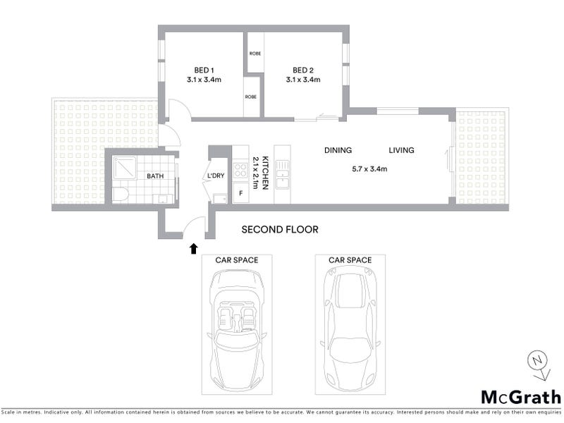 24/50 Hillcrest Street, Crace, ACT 2911 - floorplan