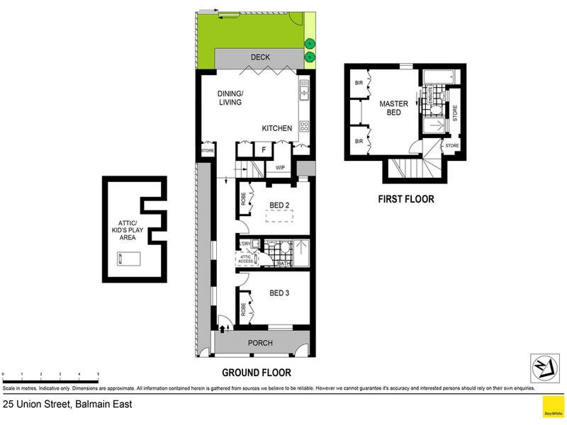 25 Union Street, Balmain, NSW 2041 - floorplan