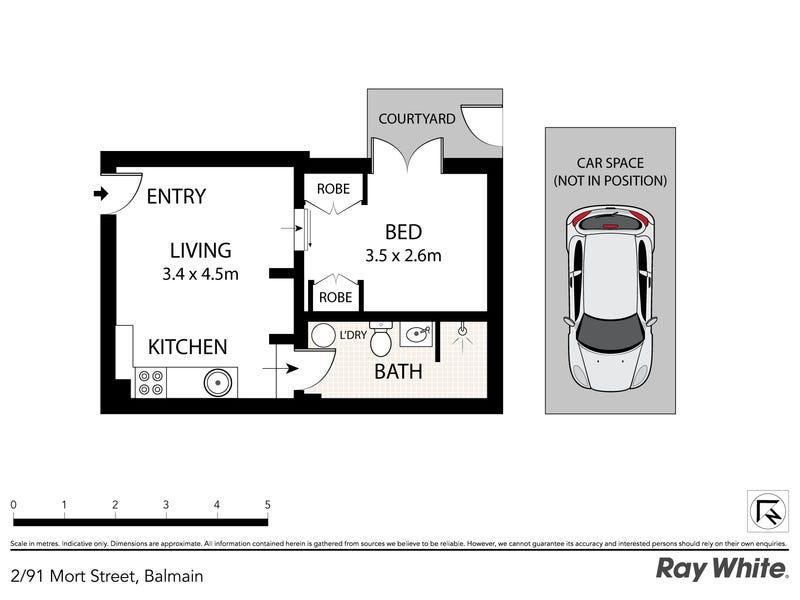 2/91 Mort Street, Balmain, NSW 2041 - floorplan