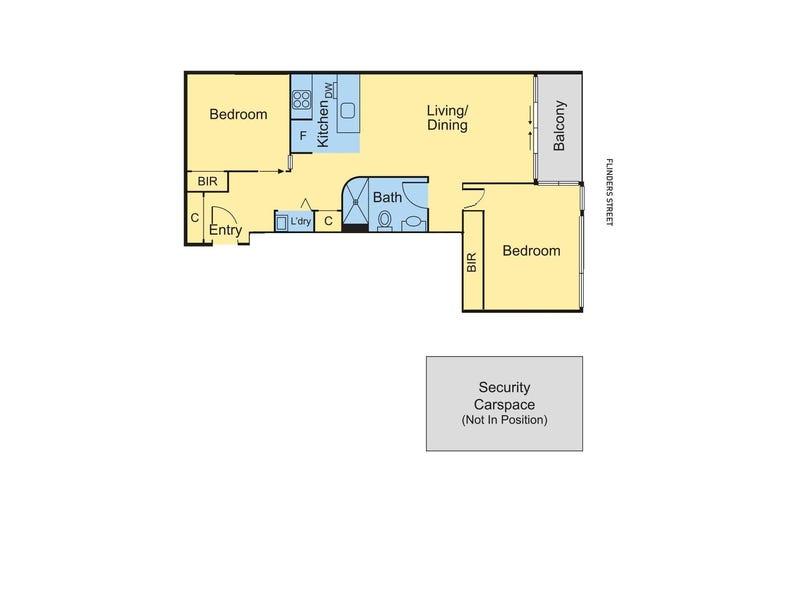 115/108 Flinders Street, Melbourne, Vic 3000 - floorplan