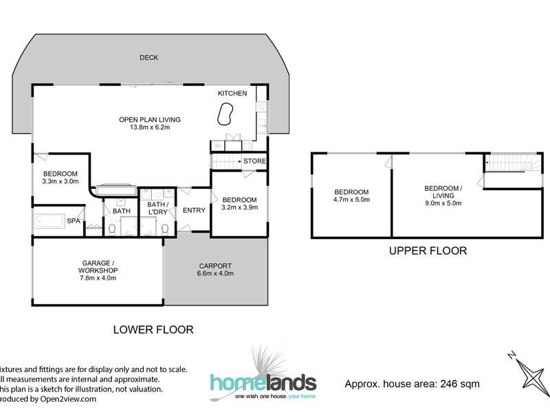 66 Wigrams Way, London Lakes, Tas 7140 - floorplan