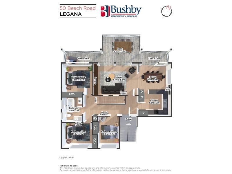 50 Beach Road, Legana, Tas 7277 - floorplan