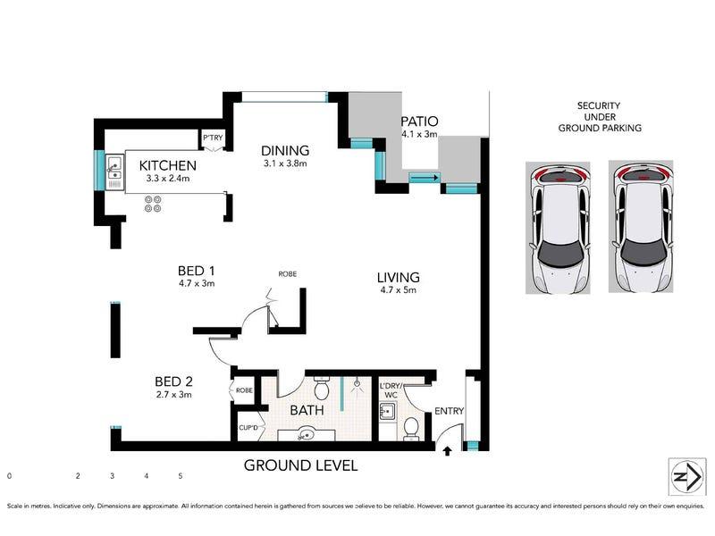 11/6 Hale Road, Mosman, NSW 2088 - floorplan