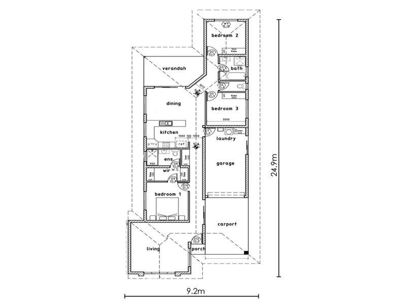 4 Banksia Street, Zuccoli, NT 0832 - floorplan